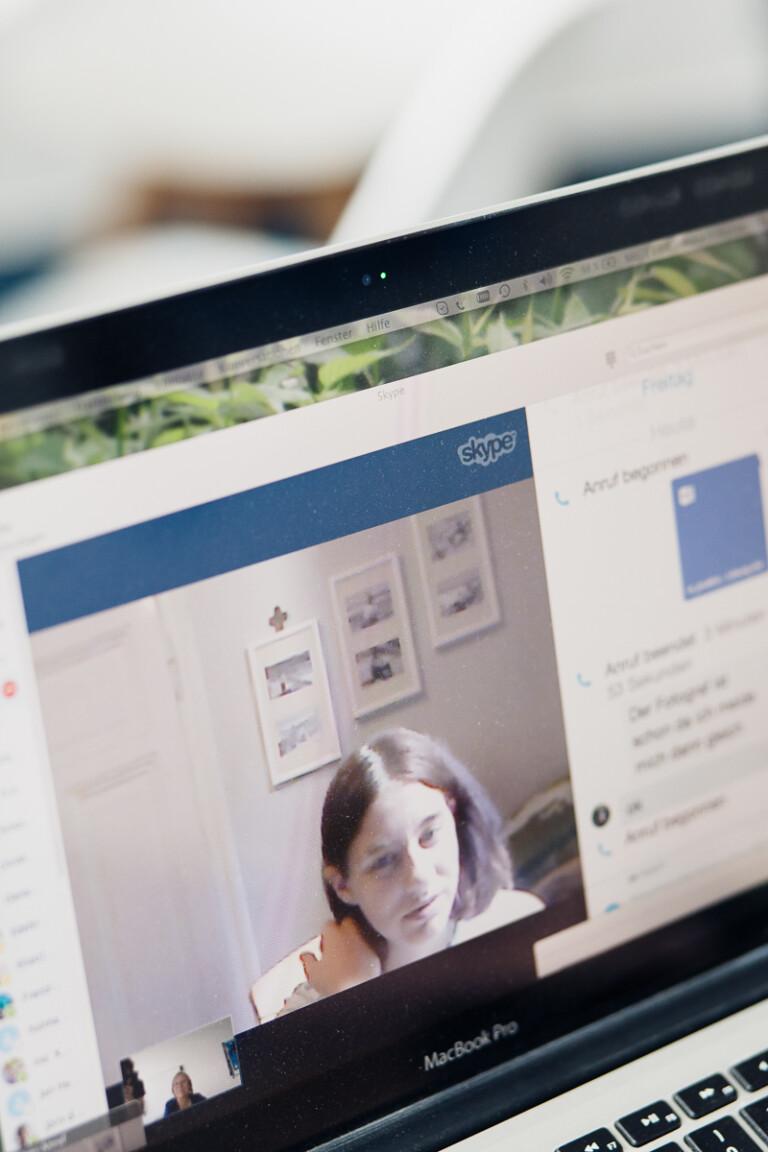 Max Brunnert Mathestunde via Skype